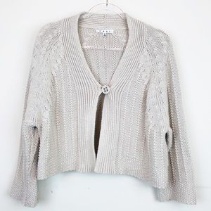 CAbi Embrace Chunky Knit Cropped Sweater Style 918